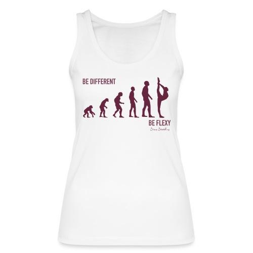 Be different - Be flexy! - Frauen Bio Tank Top von Stanley & Stella