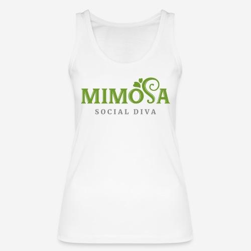 mimosa social diva - Frauen Bio Tank Top von Stanley & Stella