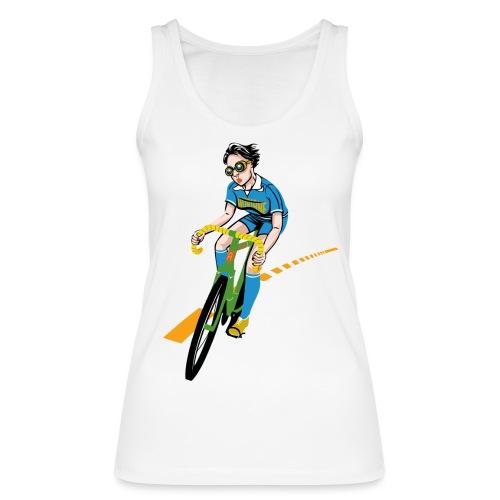 The Bicycle Girl - Frauen Bio Tank Top von Stanley & Stella