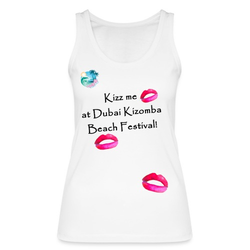 Perfect lips design black text variation 3 - Women's Organic Tank Top by Stanley & Stella