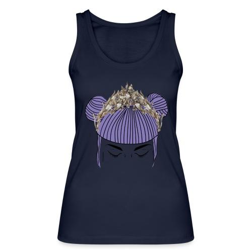 Queen girl - Camiseta de tirantes ecológica mujer de Stanley & Stella