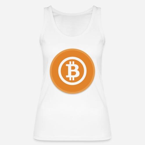 Bitcoin - Women's Organic Tank Top by Stanley & Stella