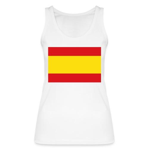 vlag van spanje - Vrouwen bio tanktop van Stanley & Stella