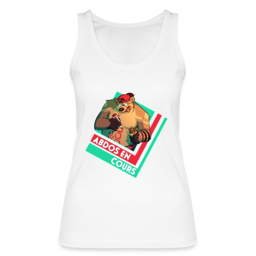 Abs in progress - Women's Organic Tank Top by Stanley & Stella