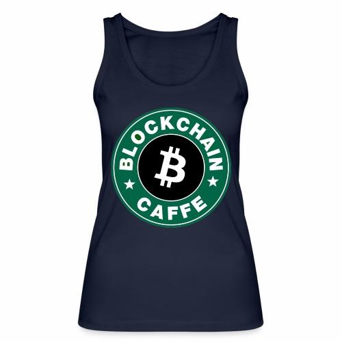 BlockChain Caffè Logo - Top ecologico da donna di Stanley & Stella