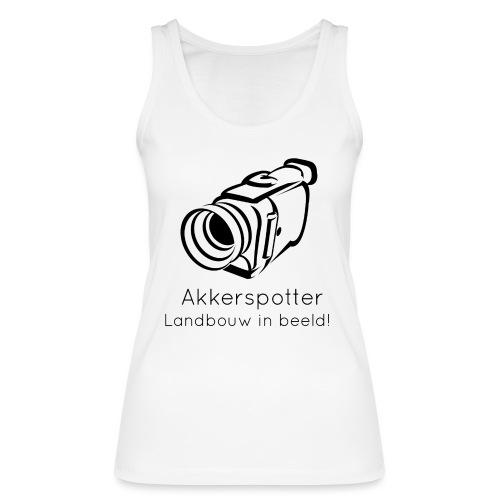 Logo akkerspotter - Vrouwen bio tanktop van Stanley & Stella