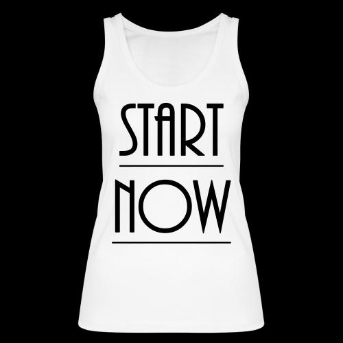 start now - Frauen Bio Tank Top von Stanley & Stella