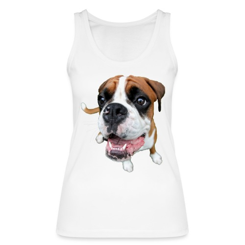 Boxer Rex dog - Women's Organic Tank Top by Stanley & Stella