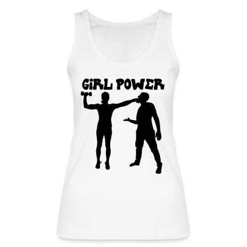 GIRL POWER hits - Camiseta de tirantes ecológica mujer de Stanley & Stella
