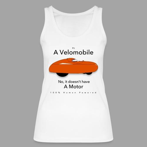 it s a velomobile black text - Stanley & Stellan naisten luomutanktoppi