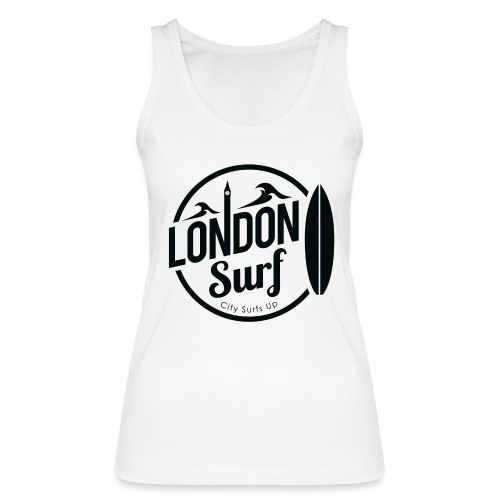 London Surf - Black - Women's Organic Tank Top by Stanley & Stella
