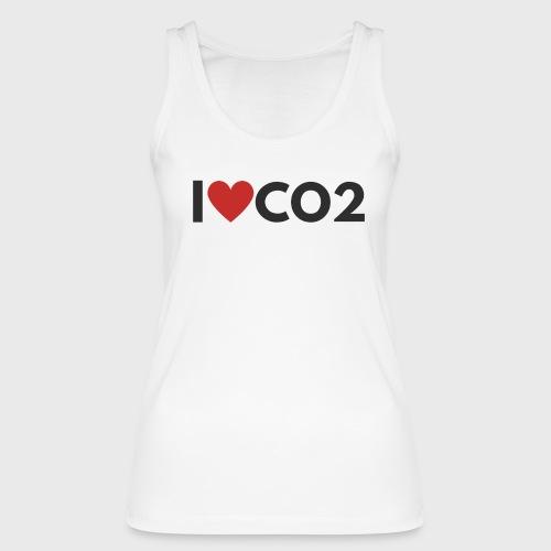 I LOVE CO2 - Stanley & Stellan naisten luomutanktoppi