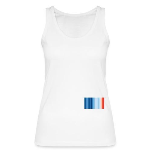 Klimawandel - Warming Stripes - Wärmestreifen - Frauen Bio Tank Top von Stanley & Stella