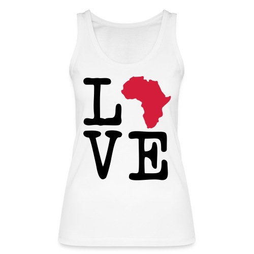 I Love Africa, I Heart Africa - Women's Organic Tank Top by Stanley & Stella