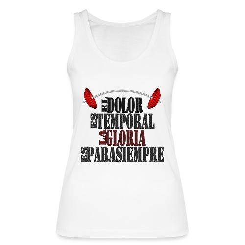 GYM - DOLOR TEMPORAL - Camiseta de tirantes ecológica mujer de Stanley & Stella