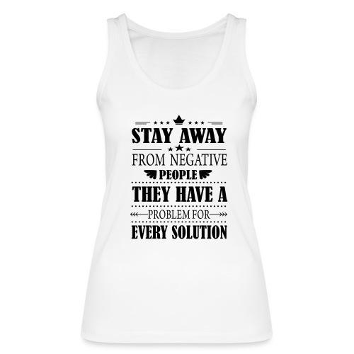 Stay away - Stanley & Stellan naisten luomutanktoppi