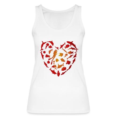 Amor Marino - Camiseta de tirantes ecológica mujer de Stanley & Stella