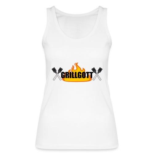 Grillgott Meister des Grillens - Frauen Bio Tank Top von Stanley & Stella