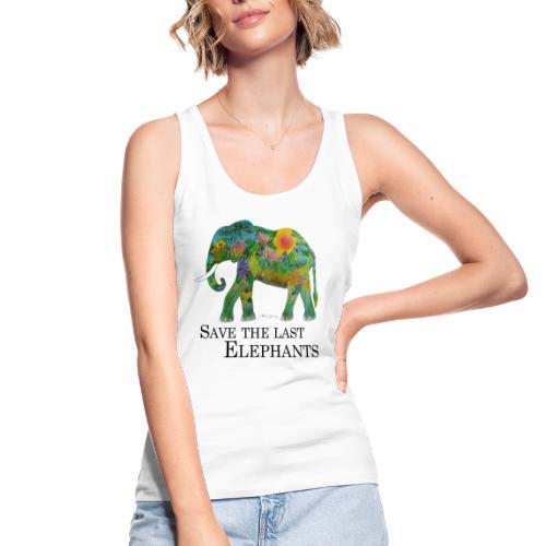 Save The Last Elephants - Frauen Bio Tank Top von Stanley & Stella