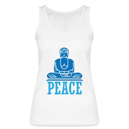 Buddha Meditating. - Women's Organic Tank Top by Stanley & Stella