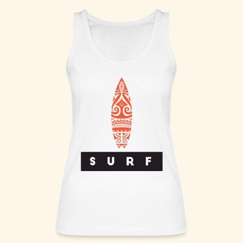 Surfing Hero by Te-Moana - Frauen Bio Tank Top von Stanley & Stella