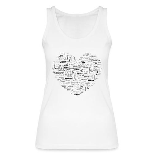 Heart Cluster - Women's Organic Tank Top by Stanley & Stella