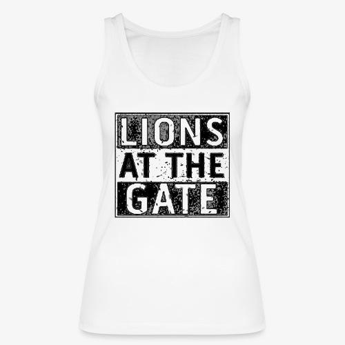 LIONS AT THE GATE BAND LOGO - Vrouwen bio tanktop van Stanley & Stella