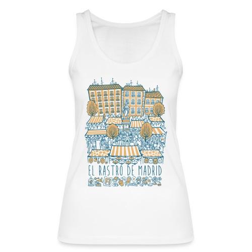 EL RASTRO DE MADRID - Camiseta de tirantes ecológica mujer de Stanley & Stella