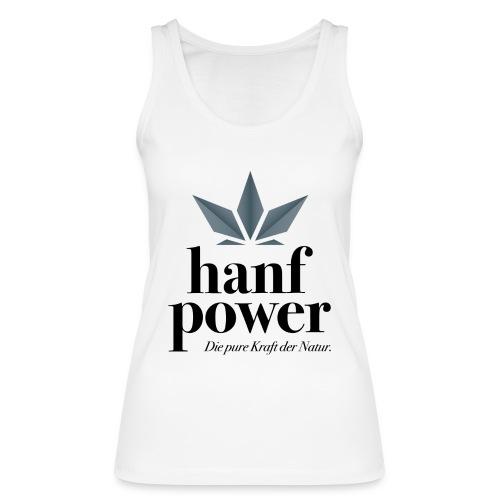 Hanf Power Logo - Frauen Bio Tank Top von Stanley & Stella