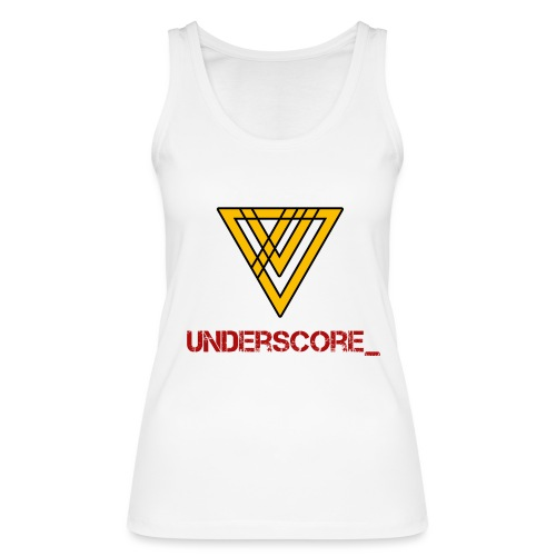 Underscore Yellow Red - Women's Organic Tank Top by Stanley & Stella