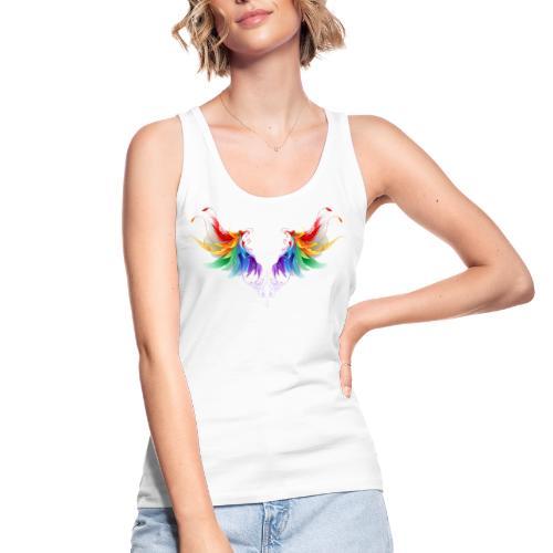 Ailes d'Archanges aux belles couleurs vives - Débardeur bio Femme