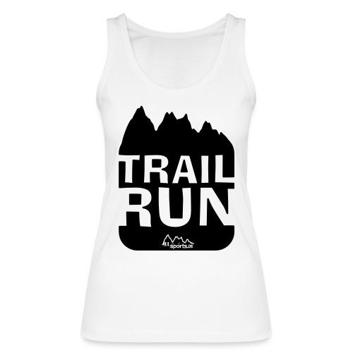 Trail Run - Frauen Bio Tank Top von Stanley & Stella
