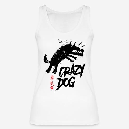 verrückter verrückter Hund - Frauen Bio Tank Top von Stanley & Stella
