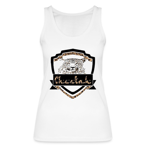 Cheetah Shield - Women's Organic Tank Top by Stanley & Stella