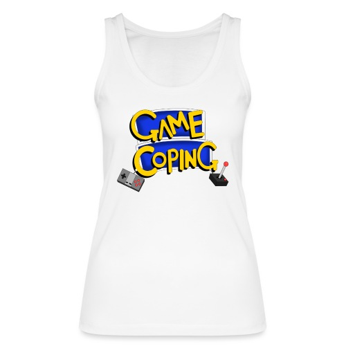 Game Coping Logo - Women's Organic Tank Top by Stanley & Stella