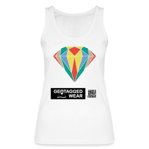 Unisex Diamond Pantone Colored - Frauen Bio Tank Top von Stanley & Stella