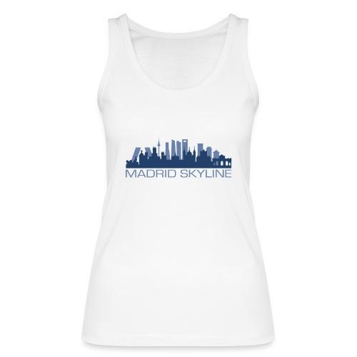 MADRIDSKYLINE - Camiseta de tirantes ecológica mujer de Stanley & Stella