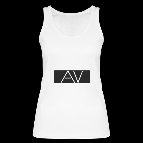 AV White - Women's Organic Tank Top by Stanley & Stella