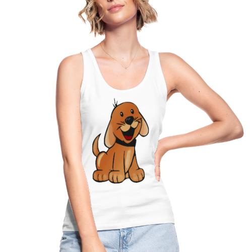 cartoon dog - Top ecologico da donna di Stanley & Stella