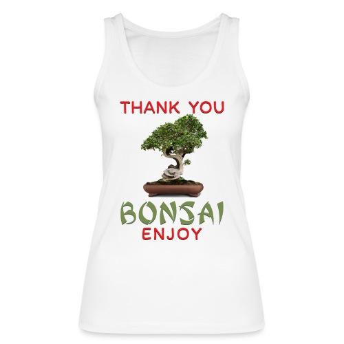 Dziękuję Ci Bonsai - Ekologiczny top damski Stanley & Stella