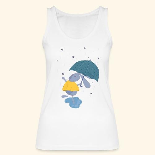 happy in the rain - Women's Organic Tank Top by Stanley & Stella