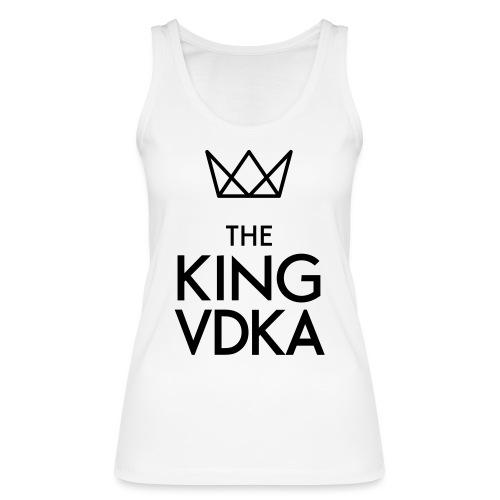 The King VDKA Logo schwarz RGB - Frauen Bio Tank Top von Stanley & Stella