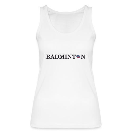 BADMINTON MAHAVELI - Débardeur bio Femme