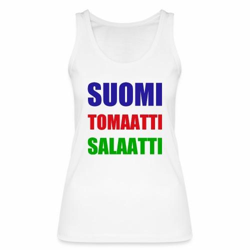 SUOMI SALAATTI tomater - Økologisk singlet for kvinner fra Stanley & Stella