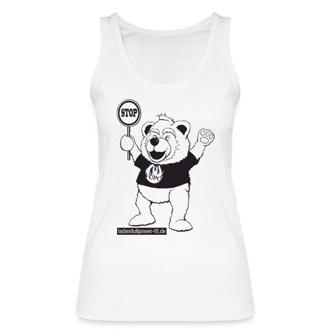 FUPO der Bär. Druckfarbe schwarz