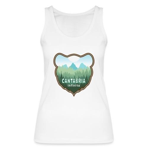 Oso en cantabria infinita - Camiseta de tirantes ecológica mujer de Stanley & Stella