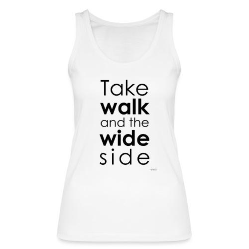 LOU-REDD-walk-black - Débardeur bio Femme