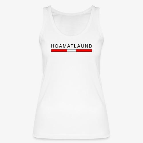 Hoamat mit österreich flagge - Frauen Bio Tank Top von Stanley & Stella