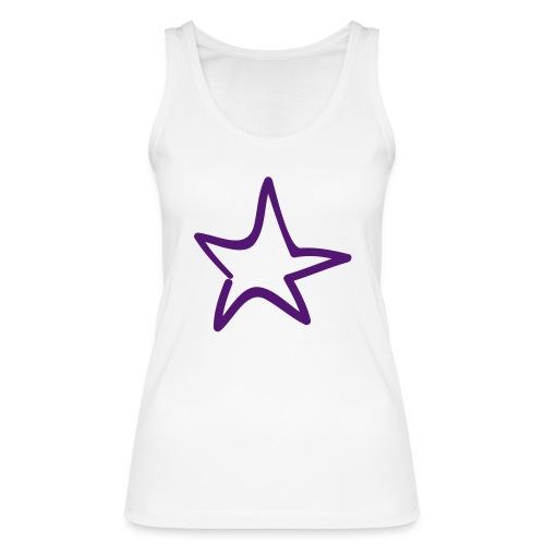 Star Outline Pixellamb - Frauen Bio Tank Top von Stanley & Stella