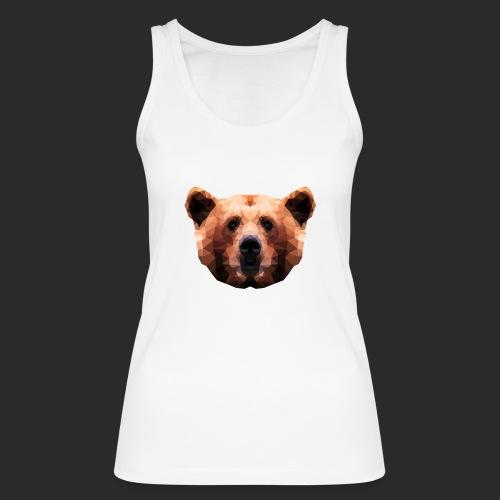 Low-Poly Bear - Frauen Bio Tank Top von Stanley & Stella